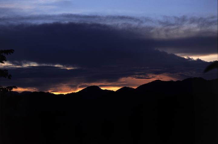Sunset, Chiang Rai, Thailand.