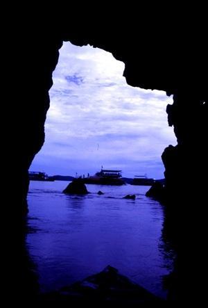 Phang Nga Cave. Thailand.