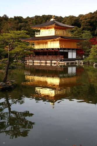 Kinkakuji, or The Golden Pavilion, is a UNESCO World Heritage Site and one of the most exquisite temples and gardens in Japan