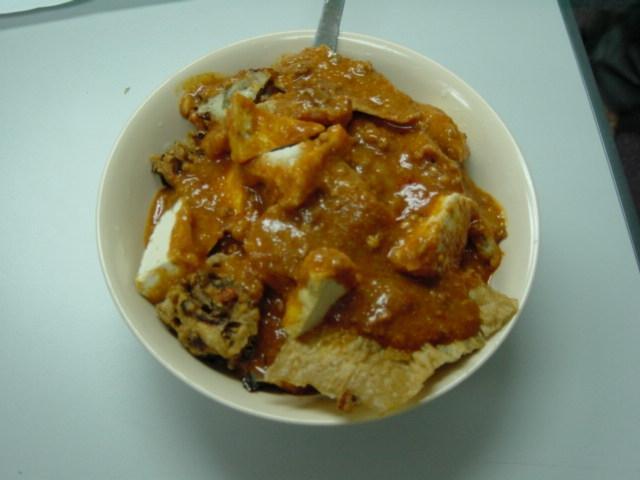 A bowl of rojak