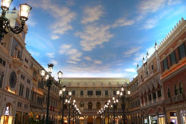Venetian macau casino welcomes its millionth visitor thingsasian st marks square venetian macau altavistaventures Choice Image