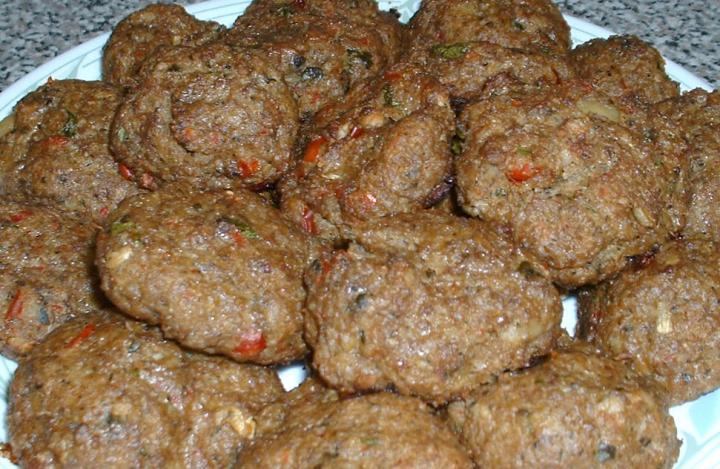 Meat and Bulgur Patties- Izgara Bulgurlu Kofte