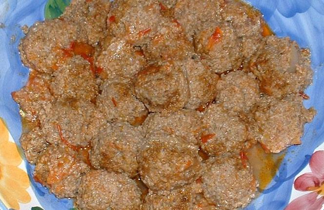 Bulgur Meatballs - Harput Koftesi