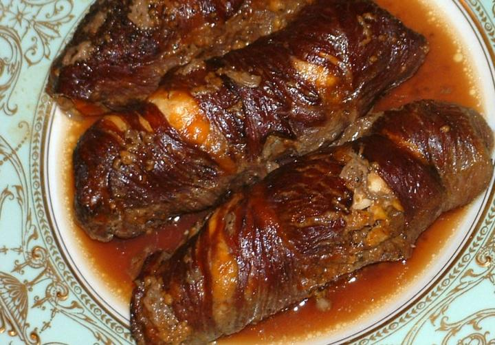 Philippines food: Morcon or Rolled Beef