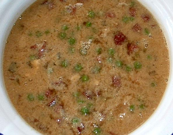 Sichuan Bean Curd and Shrimp Soup