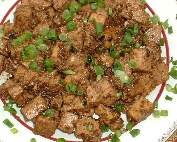 Sichuan Spicy Tofu