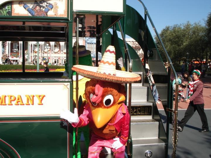 Take a ride on the tram, Tokyo Disneyland.