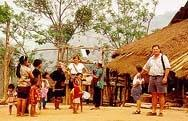 Visiting a hill tribe village in Thailand