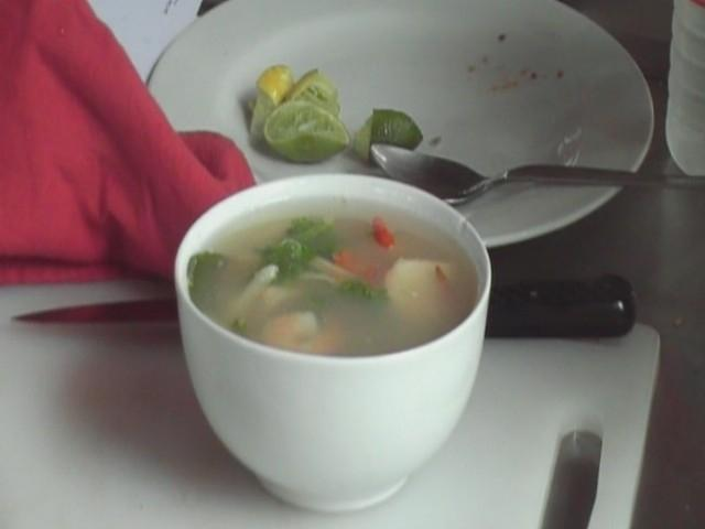 Thai Hot and Sour Prawn Soup, Tom Yam Goong
