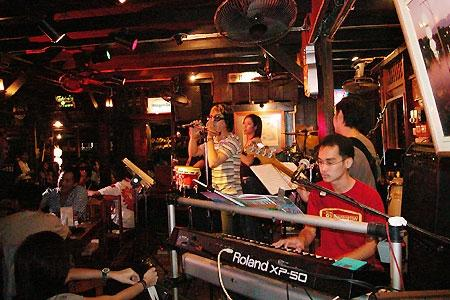 Live music in Chiang Mai Thailand