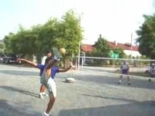 Takraw or Thai volley ball