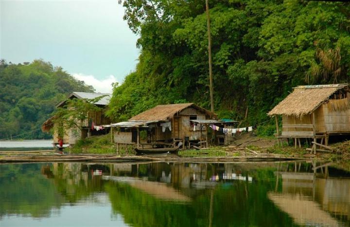 Philippines, Mindanao, Lake Sebu