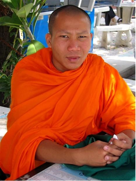 I learned so much while chatting with a monk in Chiang Mai.