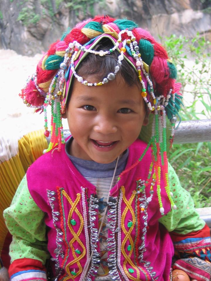 This little girl was my guide at Leaping Tiger Gorge