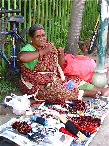 Jewelry Seller in Little India