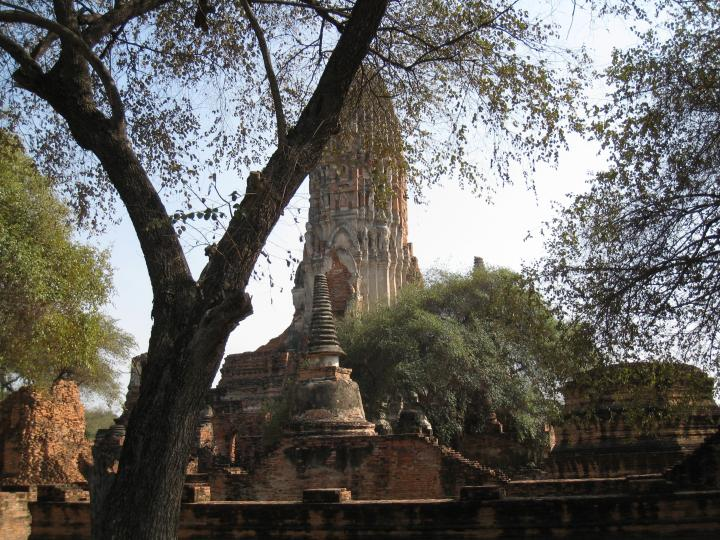Wat Phra Ram, oldest Ayutthayan temple