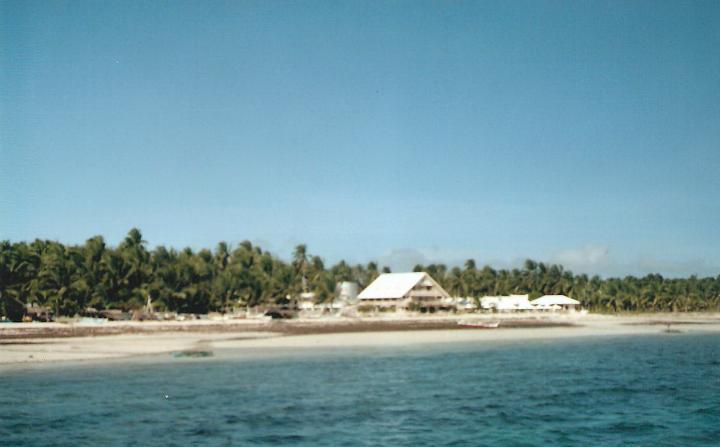 The beach at Sta. Fe, Bantayan Island