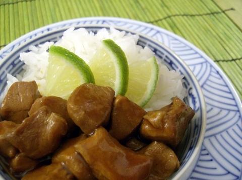 Easy Crockpot Pork Adobo