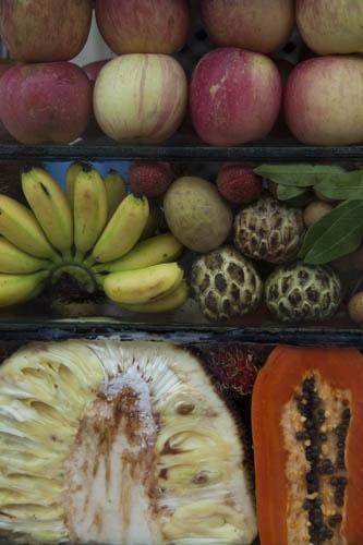 Tropical Fruit Selection, Kampot, Cambodia