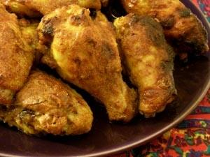 Tandoori-Style Chicken Wings