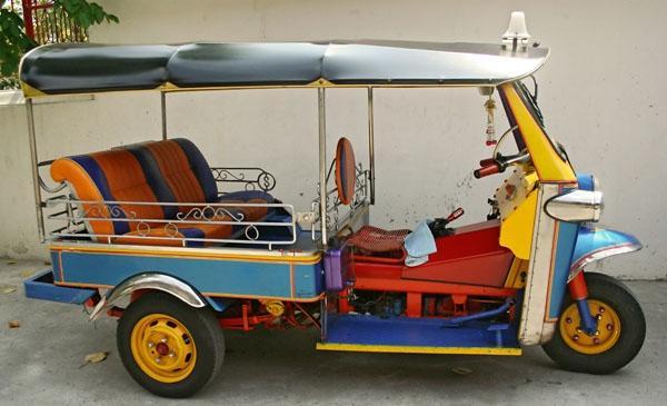 The Auto Rickshaw - Thailand, Tuk Tuk in Bangkok