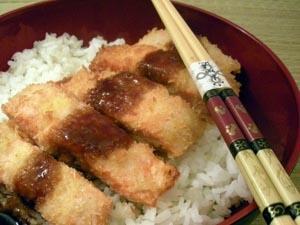 Teriyaki Salmon Katsu