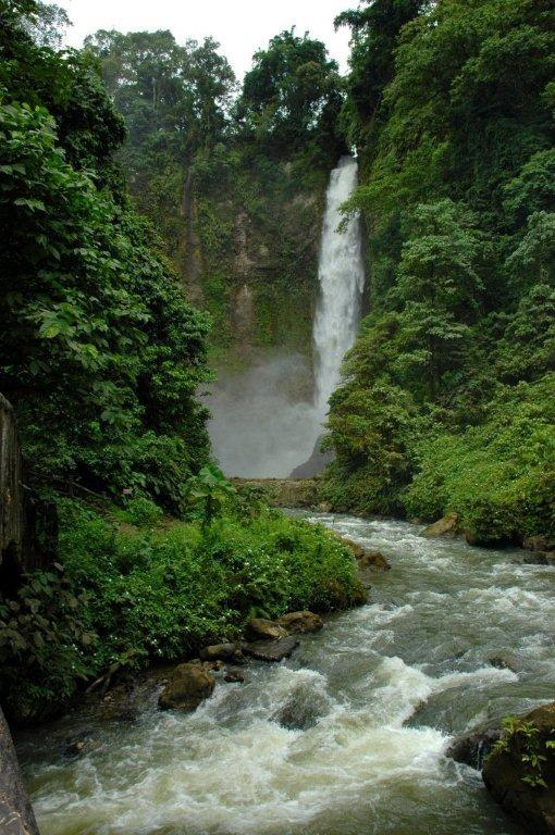 Philippines, Mindanao, 7 falls in the Province of South Cotabato