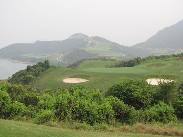 Hong Kong's scenic Kau Sai Chau golf course