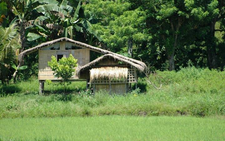 Bahay Kubo, Philippines, Mindanao countryside