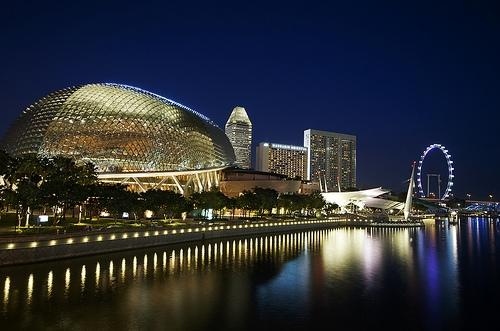 The Esplanade-Theatres on the bay (Photo copyright William Cho)