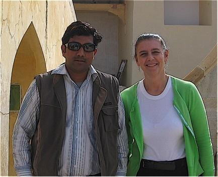 Ravi introduced us to the exciting city of Jaipur.
