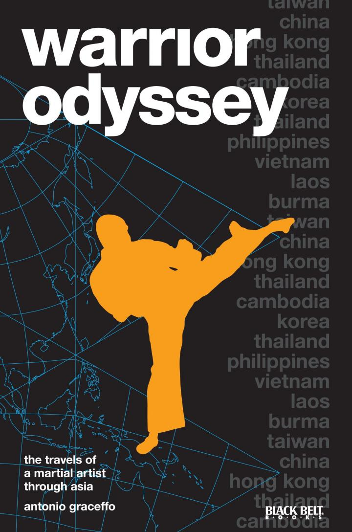 Front cover for Warrior Odyssey