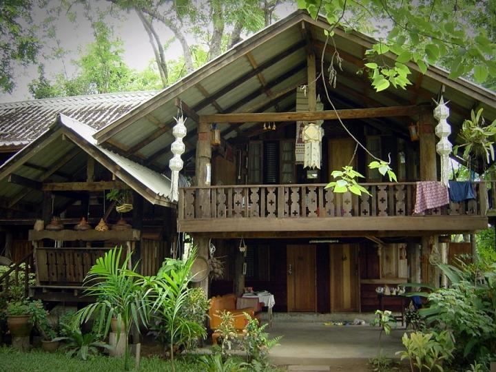 A very nice guesthouse in Pai