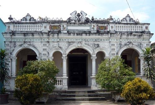 "The house in Sadec, Vietnam, featured in Marguerite Duras' story ""The Lover"""