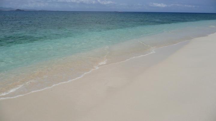 The beach of Gili Nanggu