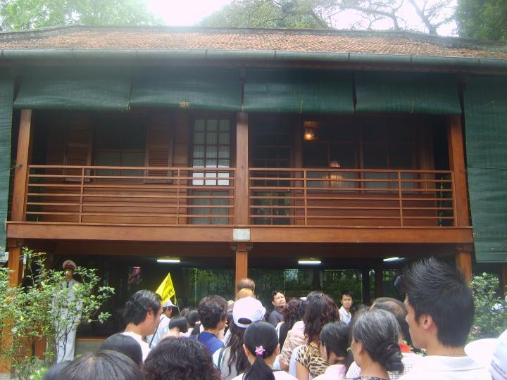 Ho Chi Minh's residence, Hanoi.