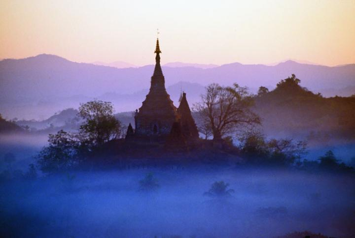 A Mrauk U morning