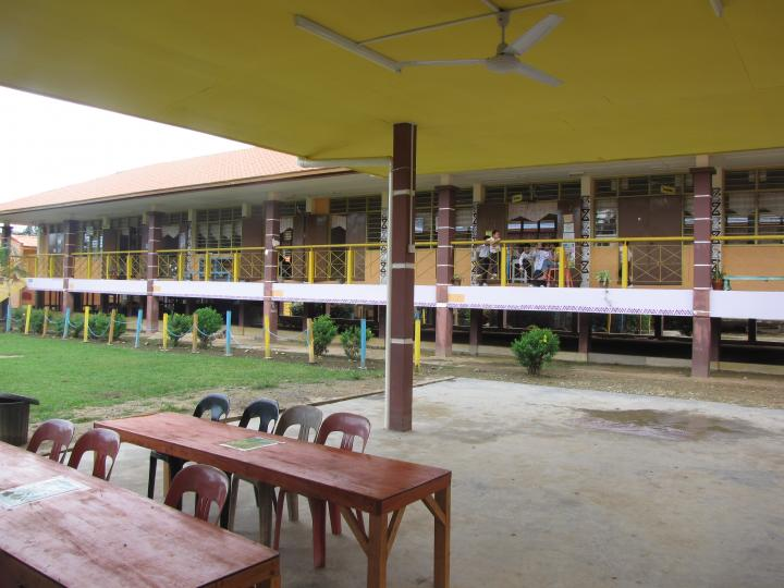 The school in Bata Puteh