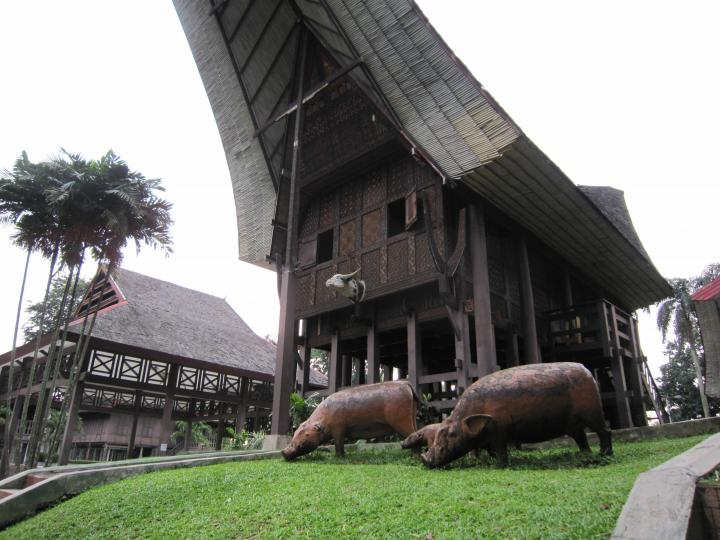 South Sulawesi House in Taman Mini Indonesia Indah