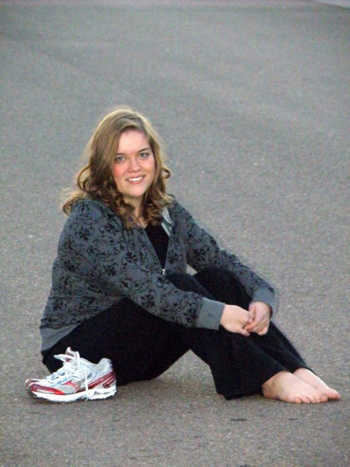 Stephanie Sibert, Running for children.
