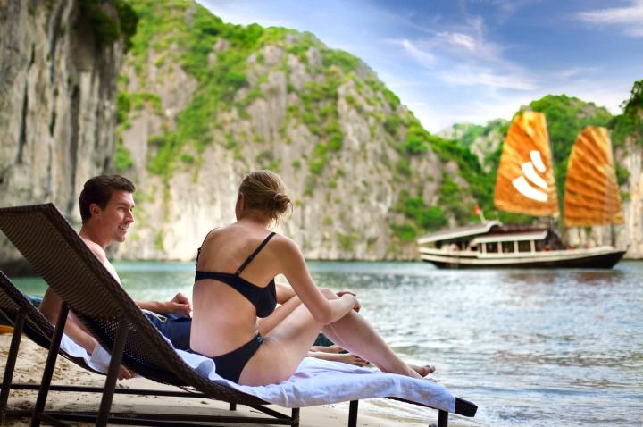Romance in Halong Bay, Vietnam