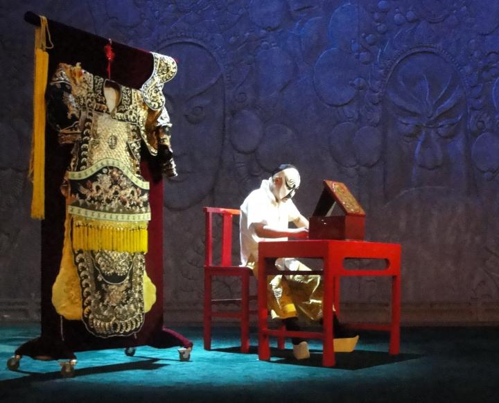 The Peking Opera:  An Actor Prepares