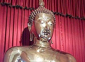Golden Buddha at Wat Traimit. Bangkok, Thailand.