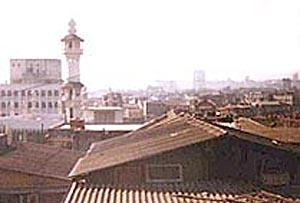 View of Dongri and Downtown Bombay