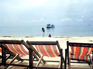 Beach Chairs, Ko Samet, Thailand.