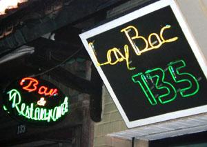 The laid-back Lay Bac Pub can be found at 135 Hang Bac Street, Hanoi.