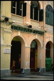 Starbucks, Senado Square, Macau.