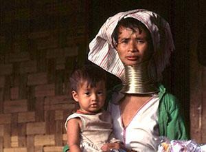 Ethnic Karen woman. Thailand.