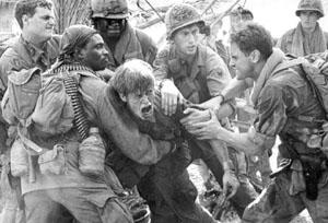 Platoon (1986) Directed by Oliver Stone.