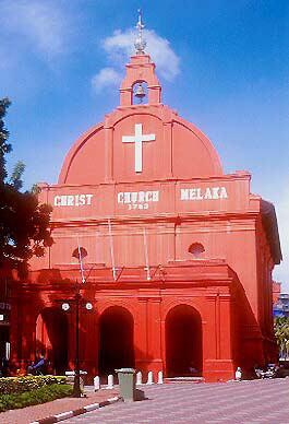 Malacca's 1753 Christ Church